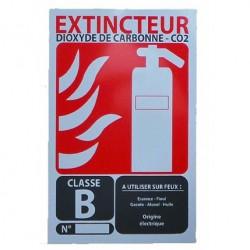 Signalisation extincteur dioxyde de carbonne- CO2