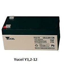 Batterie YUASA gel 12V 3,2Ah